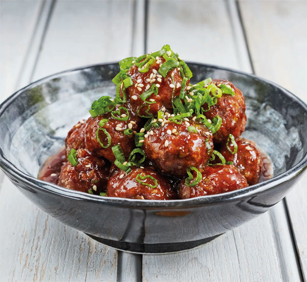 Sweet Ginger Meatballs