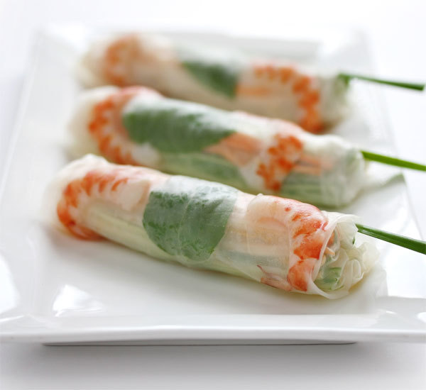 Fresh Spring Rolls with Japanese Style Sauce