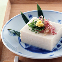 Photo hiyayakko chilled tofu