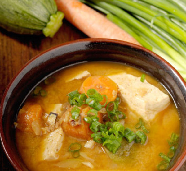 Korean Style Spicy Miso Soup