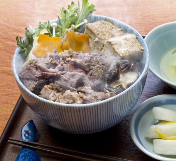 Beef Sukiyaki Donburi Rice Bowl