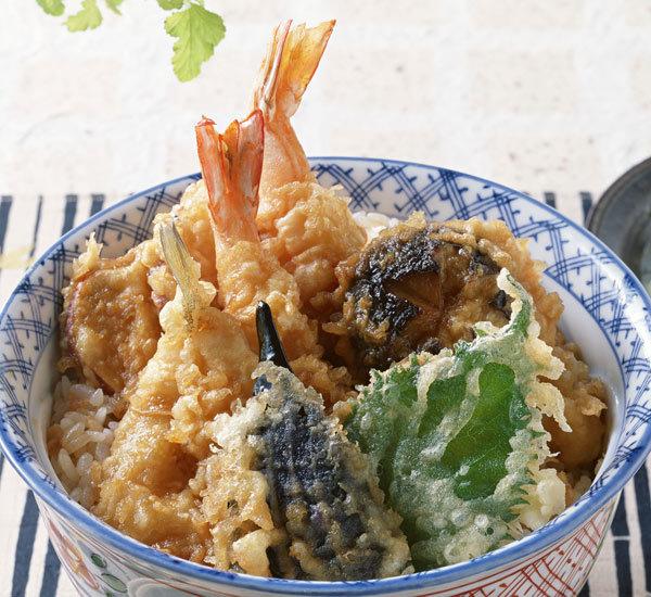 Tendon Tempura Rice Bowl