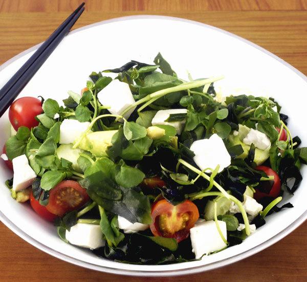 Wakame And Tofu Salad