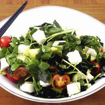 370 wakame tofu salad